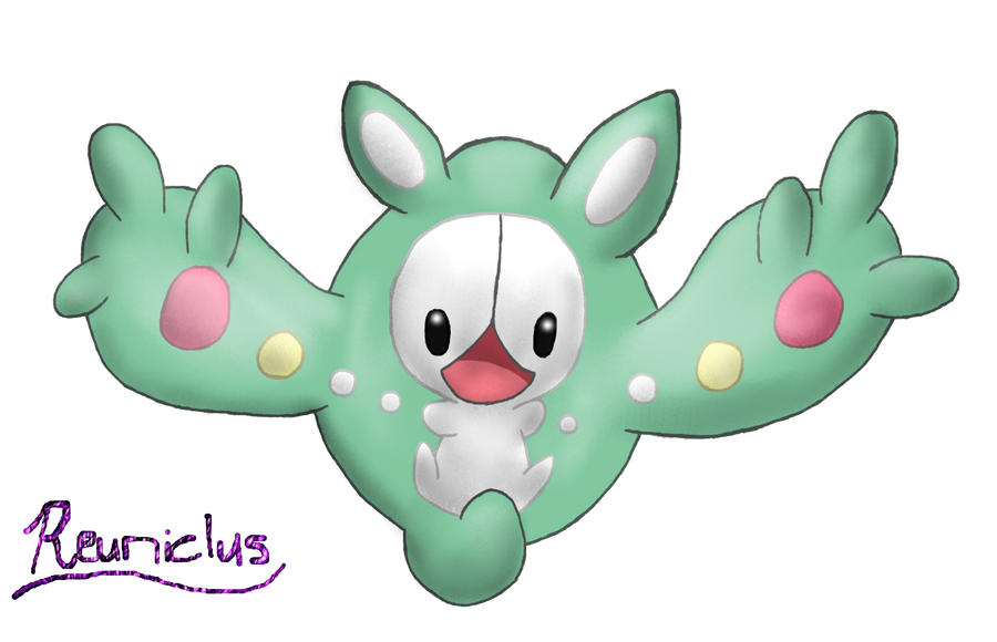 Reuniclus by Libra-Dragoness