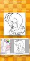 How to use Paint Tool Sai. Lesson 2: Color+Volume