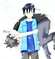 Percy and Nico-Put me DOWN by K1RAR1N
