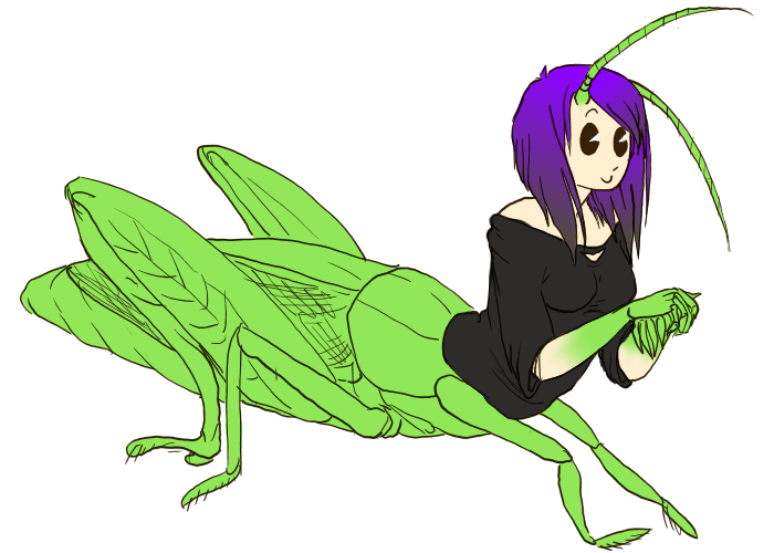 Grasshoppah by HellLemur