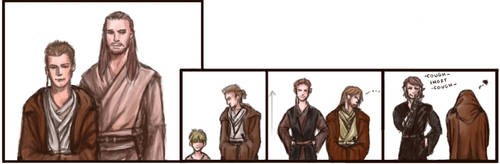 Obi-Wan's height issue? by littleshade