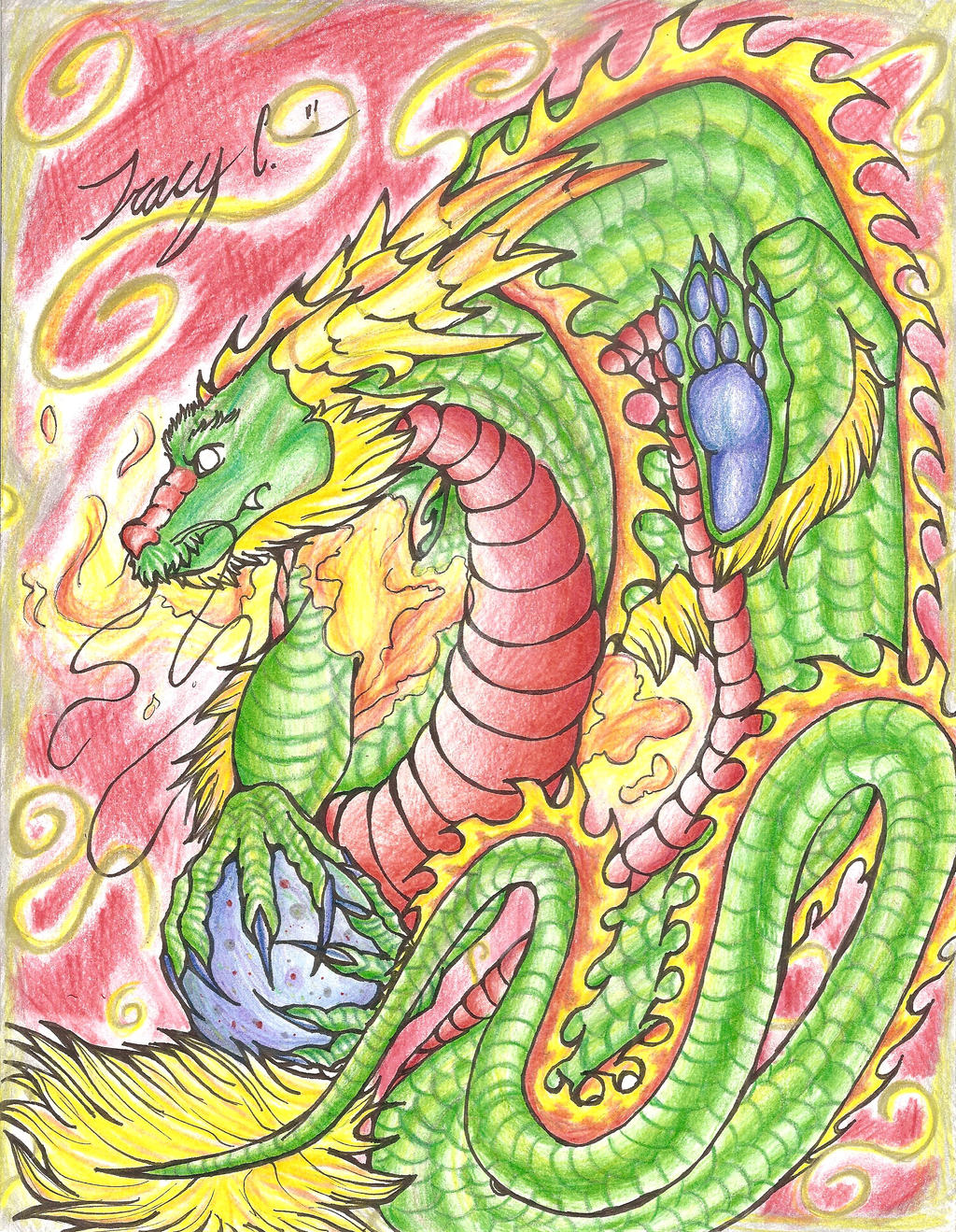 commission: IKokoroManga -chinese dragon by Trucy757
