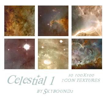 Celestial 1: 30 Textures by skybound2