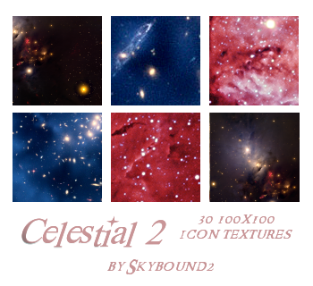 Celestial 2: 30 Textures by skybound2