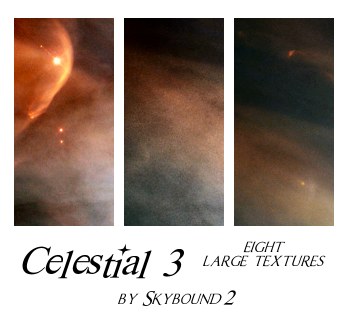 Celestial 3: 8 Textures by skybound2