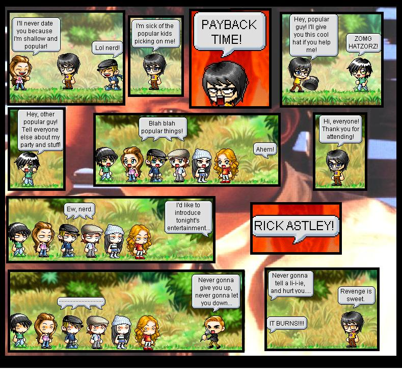 Maplestory Comic by iVanilla