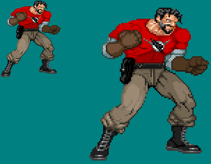 Sprite Work: Doc Valiant by SXGodzilla