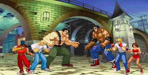 Sprite Stuff/Fanart: Final Fight X Streets of Rage by SXGodzilla