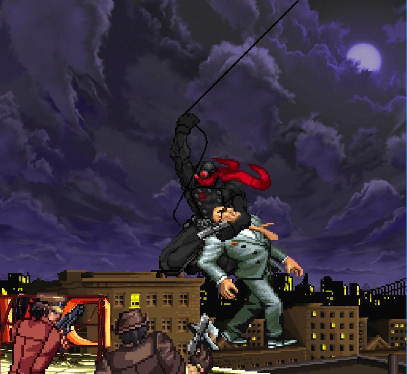 Sprite Fun: Detective Comics-style Black Spider by SXGodzilla