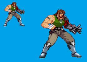 Sprite Stuff: Nate Spencer, the Bionic Commando by SXGodzilla