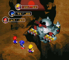 Sprite Stuff: Fake 'Super Mario RPG' Sequel by SXGodzilla