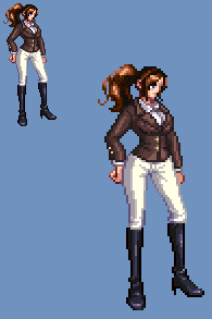Sprite Work: Pauline Wilson (Earth-56) by SXGodzilla