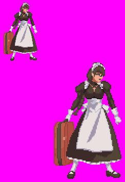 Sprite Thing: Roberta by SXGodzilla