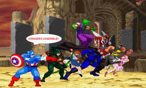 Crisis Cataclysm: Multiversal Avengers by SXGodzilla