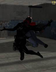 [COM] The Spider's Last Fight by Trekkiegal by SXGodzilla