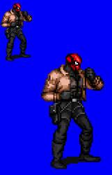 Sprite Stuff: Red Hood (16-bit style) by SXGodzilla