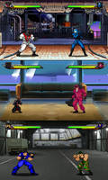Sprite Stuff: Fake Hasbro Fighting Game3 by SXGodzilla