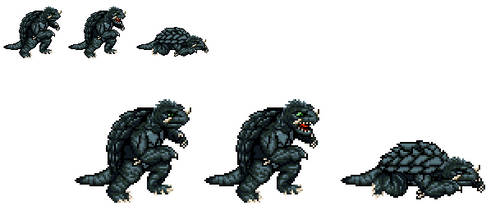 Sprite Stuff: Gamera (Heisei Era)