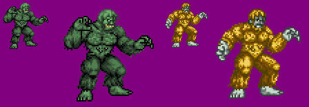 Sprite Stuff: The Gargantuas