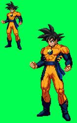 Sprite Stuff: 'DC Universe' Goku