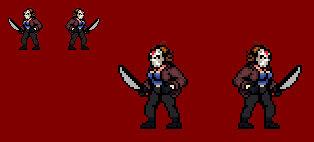 Random Sprite Work - Female Jason