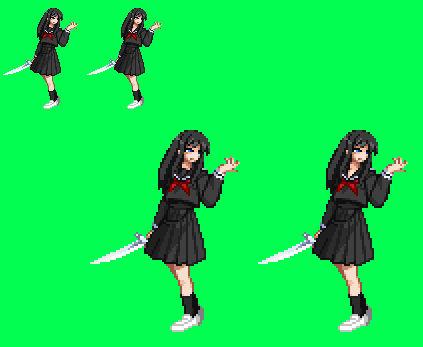 Sprite Stuff: Misa Kuroi (Eko Eko Azarak)