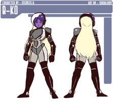 [COM] Armored B-Ko (DC Comics B-ko) by Ishida1694