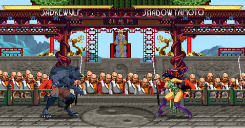 Sprite Stuff: Fake Triple Crossover Fighting Game