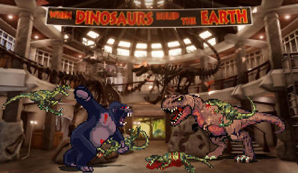 Sprite Stuff: What if King Kong in Jurassic Park