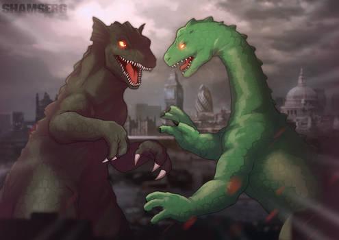[COM] Ogra vs Paleosaurus by shamserg