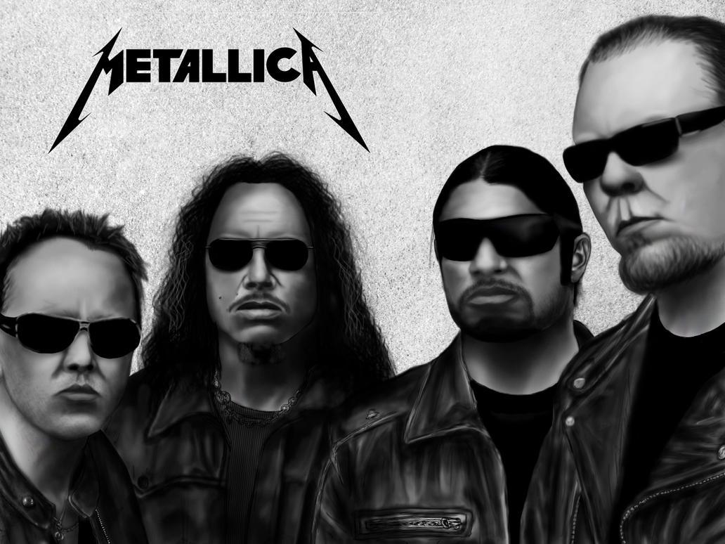 Metallica Portrait by Zippy5454