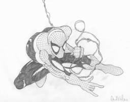 Swingin' Spidey by davew