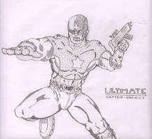 Ultimate Captain America by davew