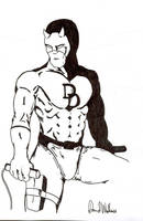 Daredevil developed pen by davew