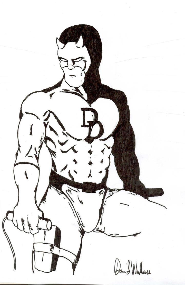 Daredevil developed pen by davew