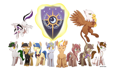 EQRG Group Commission by WhatTheScoots