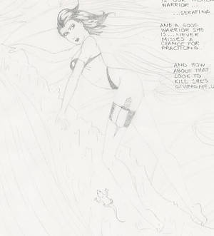 Mutant Force Swimsuit Special. Serafina