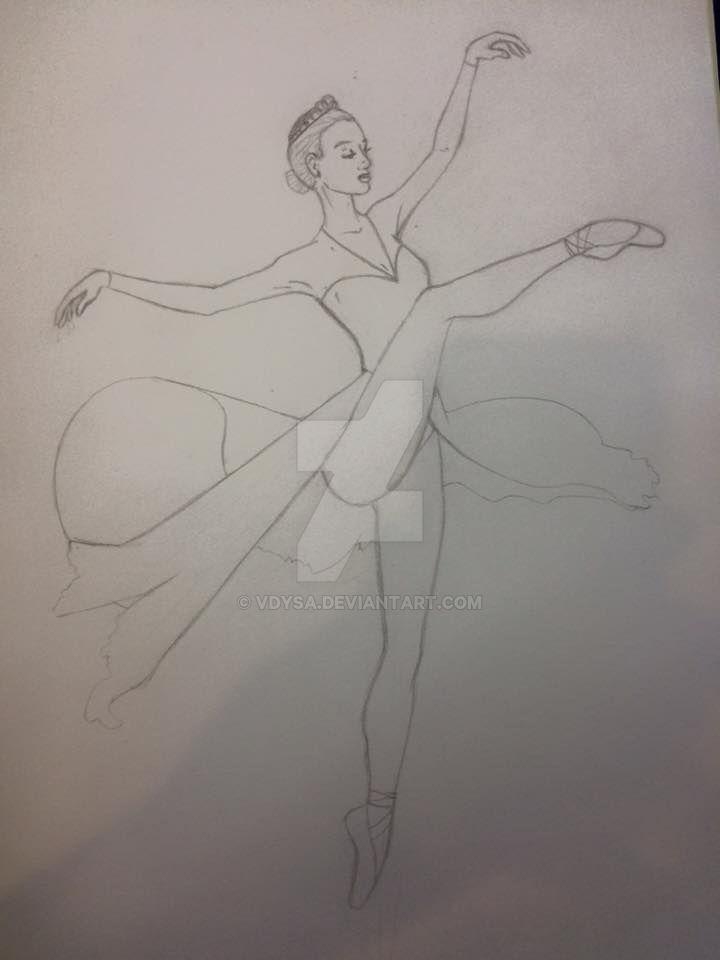 Ballerina by vdysa
