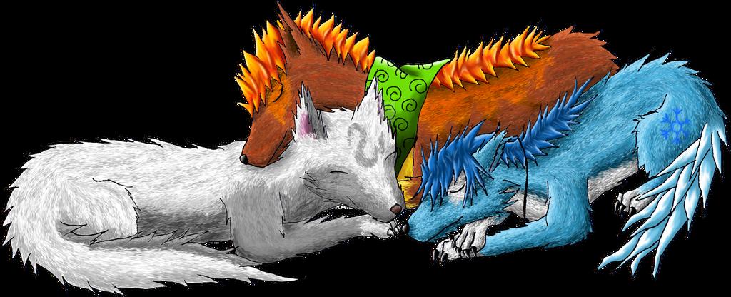 Falling asleep by Issura