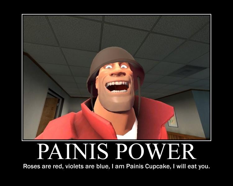 PAINIS POWER by Nanosuke-Chibi on DeviantArt I Am Painis Cupcake I Will Eat You