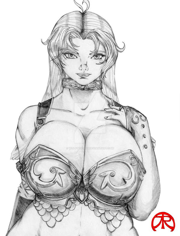 Amy Early-concept art by WolfGuard23