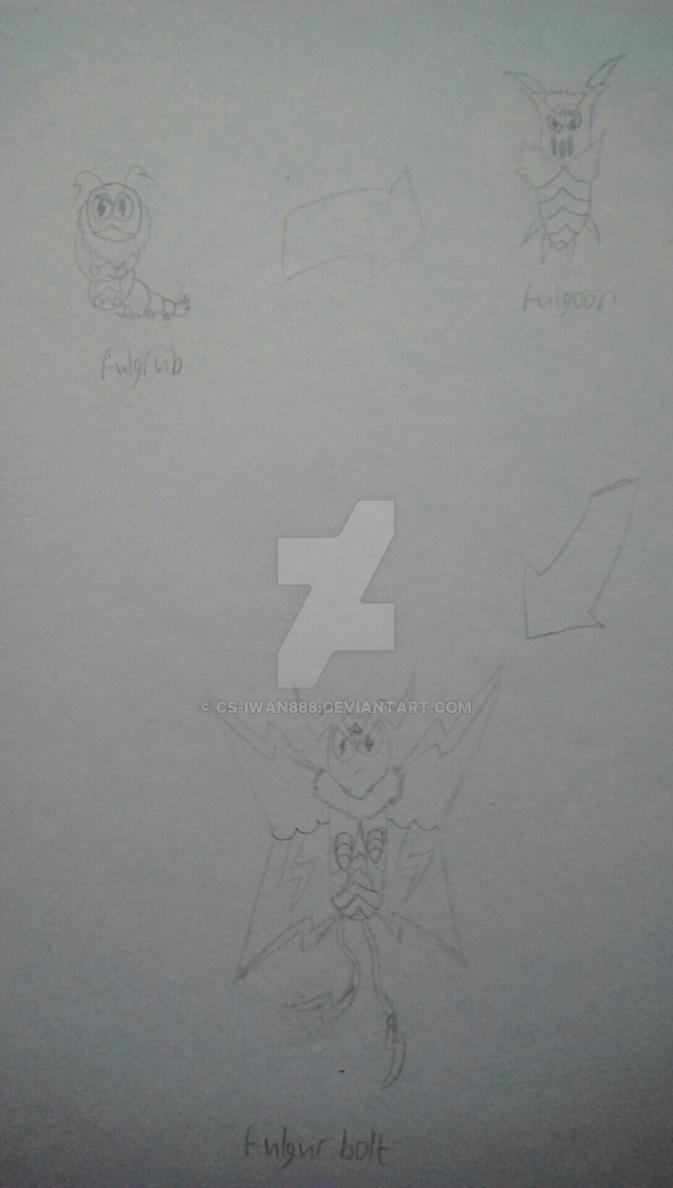 Line Art Photo Cs : Fulgrub evolution line concept art by cs iwan on deviantart