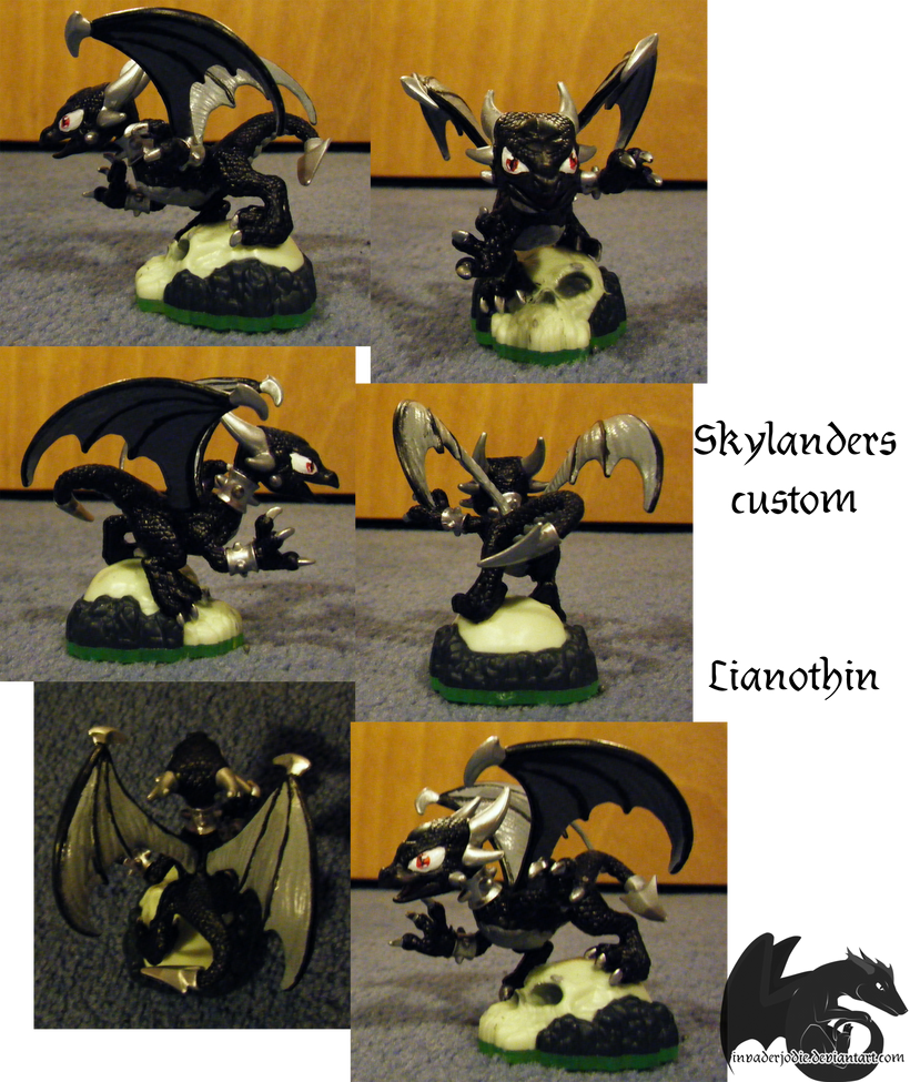 Skylanders Custom- Lianothin by Gikairan