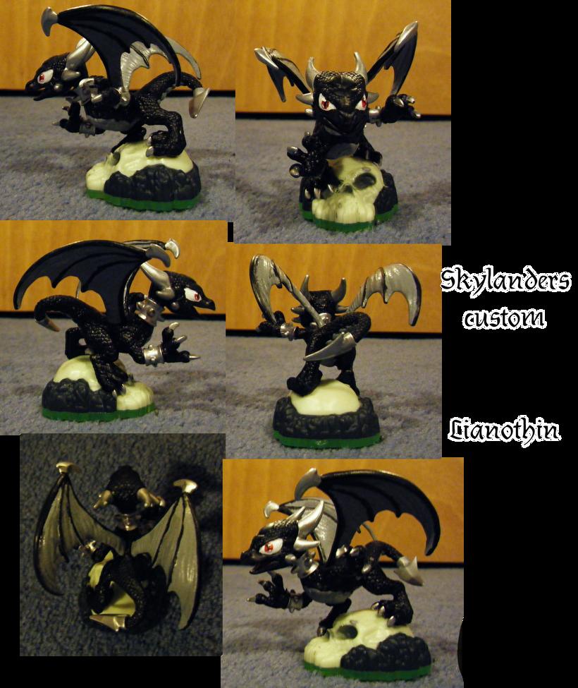 Skylanders Custom- Lianothin by Gikairan