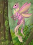 Moth Dragon by Gikairan