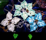 Glow in the Dark Leaf Pendants  - New Colours