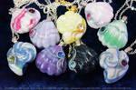 Seashell Pendants - New Snail Shells