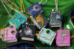 Book Pendants - Now Available in Light Purple