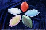Polymer Clay Leaf Plates