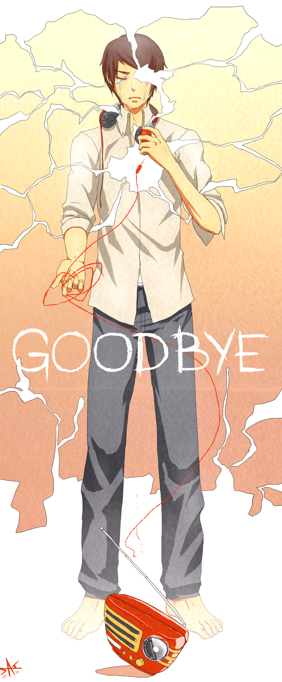 GOODBYE by radiostarkiller